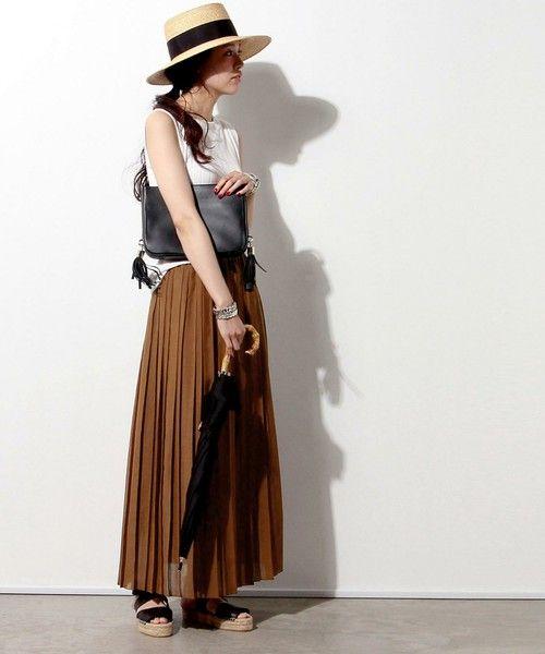 【ZOZOTOWN 送料無料】UNITED ARROWS(ユナイテッドアローズ)のスカート「UWMF プリーツ マキシスカート ②」(15242700472)を購入できます。