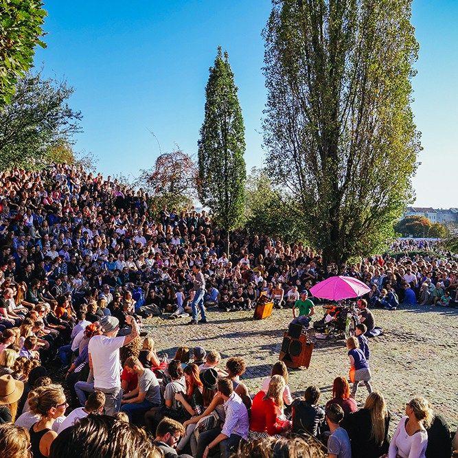 Karaoke in Mauerpark Berlin