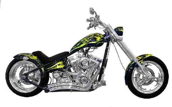 Sidewinder Radical Rigid Hard tail Chopper