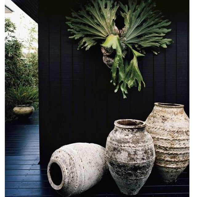 Turkish urns as seen in this incredible project by Les Interieurs designer Pamela Makin| Now available in the store.