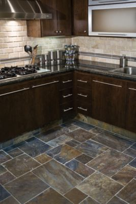 love the versailles pattern and backsplash. would do a darker grout on the floor.