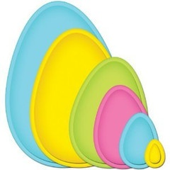 Spellbinders Egg shaped dies... I want!: Spellbinders Egg, Crafting Die, Shaped Dies, Paper Crafting