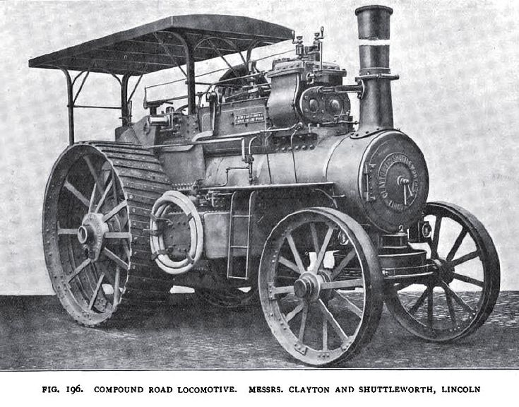 Clayton, Shuttleworth & Co. - 1904 Article-Clayton, Shuttleworth & Co., Steam Traction Engine (part 1) | VintageMachinery.org