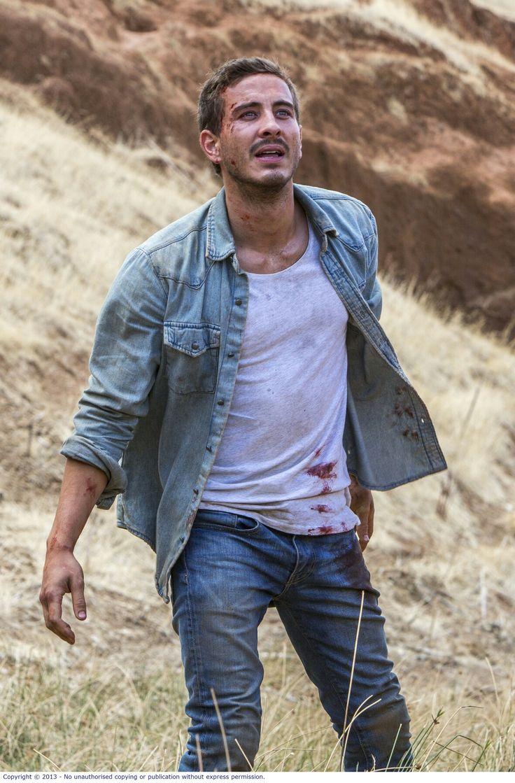 Ryan Corr as Paul Hammersmith in 'Wolf Creek 2'