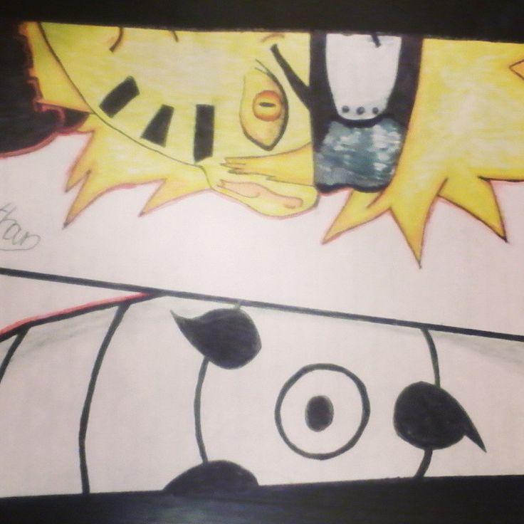 Naruto and obito # my drawing