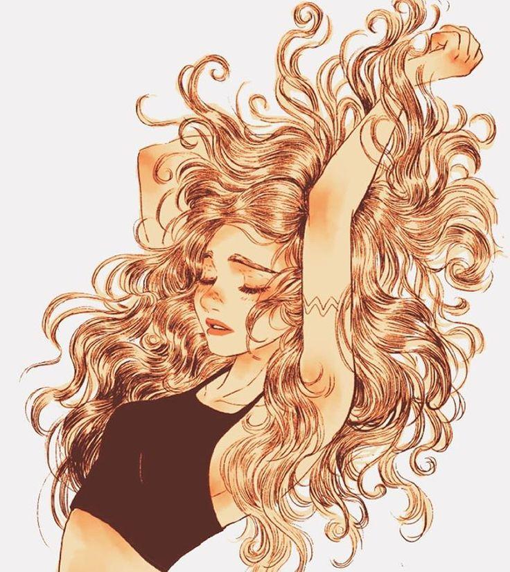 Inspire-se. Seus cabelos são ótimos para fotos, penteados...