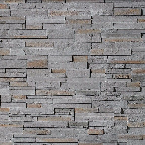Cs Pf Gray Pro Fit Ledgestone Cultured Stone Stone