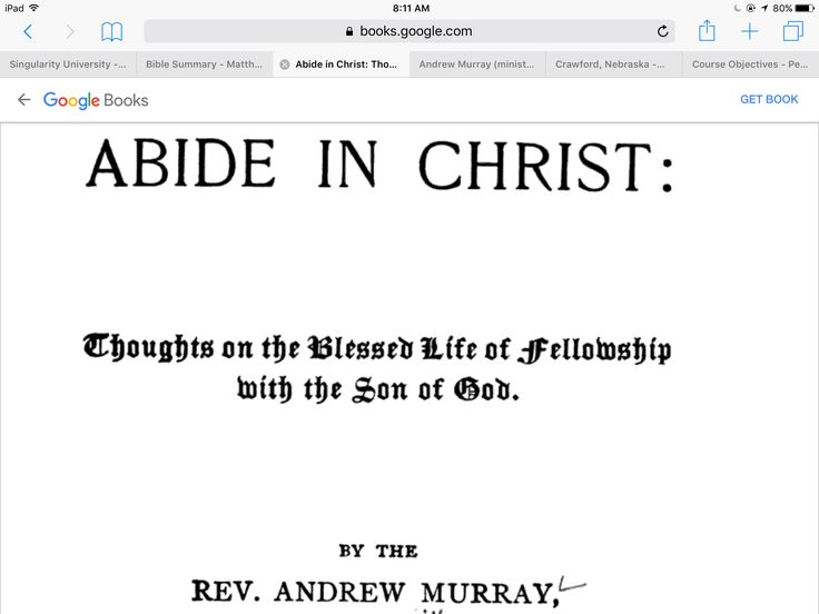 abide in christ andrew murray pdf