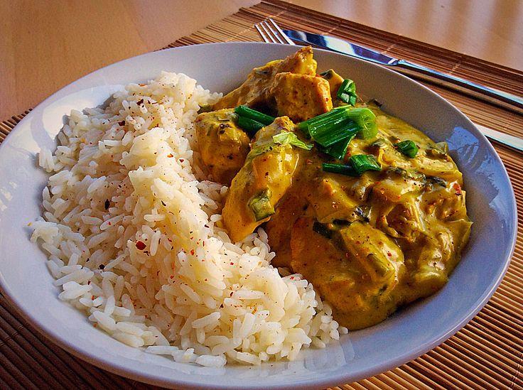 Hähnchen-Curry, ein sehr leckeres Rezept aus der Kategorie Geflügel. Bewertungen: 307. Durchschnitt: Ø 4,6.