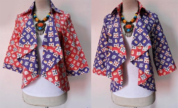 1000 Images About Batik On Pinterest Batik Blazer Wrap
