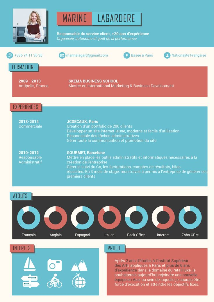17 best ideas about cv gratuit word on pinterest