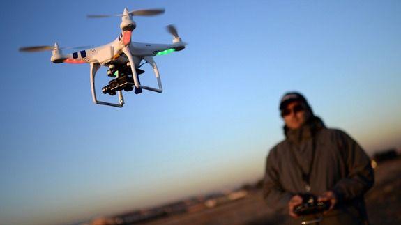 Researchers: Airplane drone strikes pose negligible risk