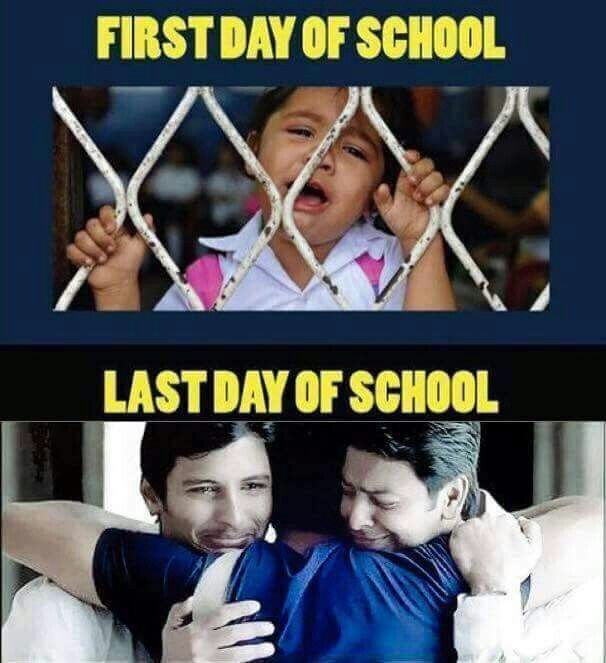 So true.... I love my frnds but can't sit with them in the class because our seats are fixed.... :(