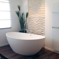 freistehende mineralguss badewanne von badeloft modern badezimmer von badeloft gmbh