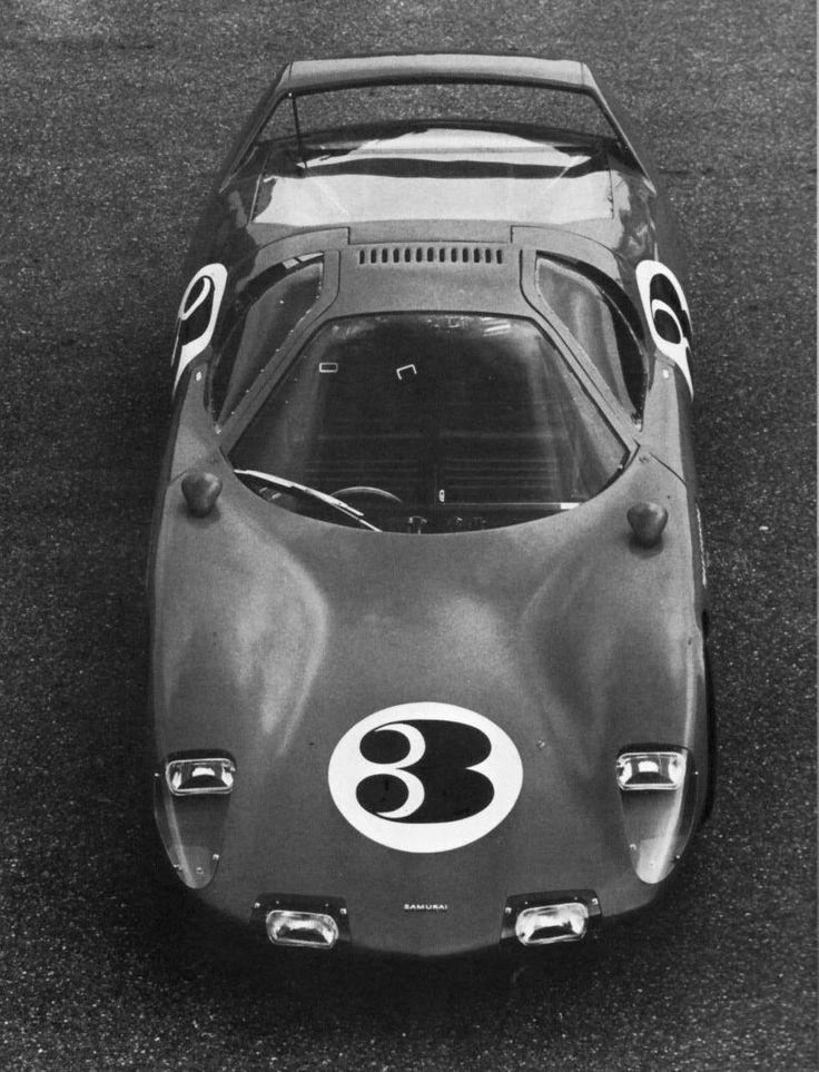 Hino Samurai, Peter Brock design, maybe more famous for the Cobra Daytona body ;)