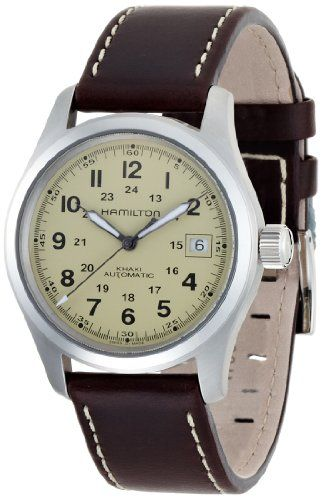 Men's Wrist Watches - Hamilton Mens H70455523 Khaki Field Automatic Watch -- Continue to the product at the image link.