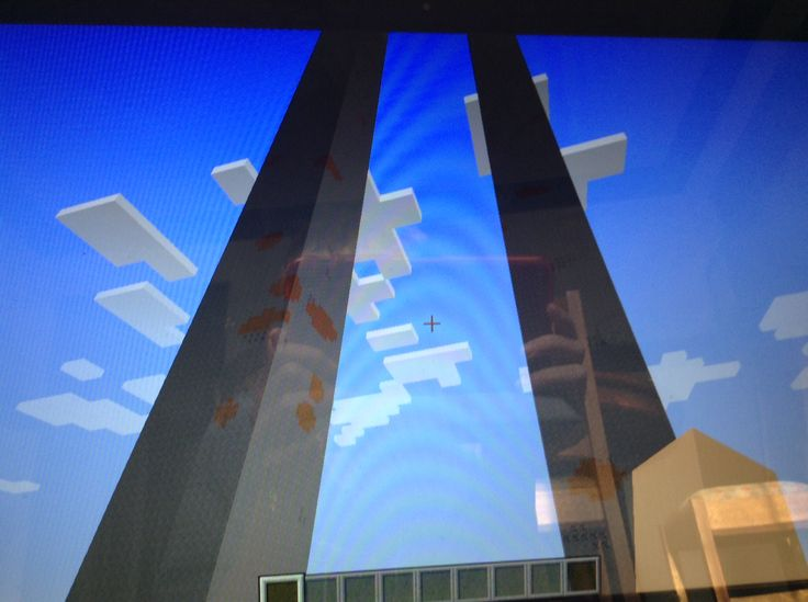I just spawned on top of these things on minecraft  computer version the seed is jacob. On super flat