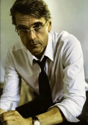 If I had to pick an actor to play Dathan, Jeremy Irons would be high on the list. He's the spitting image.