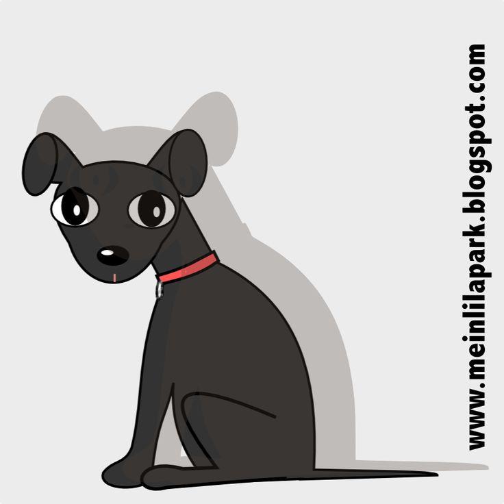 free digital dog scrapbooking embellishment – scrap dog png – Hunde Clipart – freebie   MeinLilaPark – DIY printables and downloads