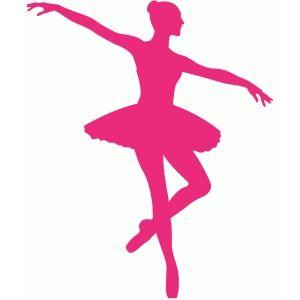 Silhouette Design Store: ballerina