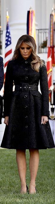 First Lady Melanie Trump in Michael Kors