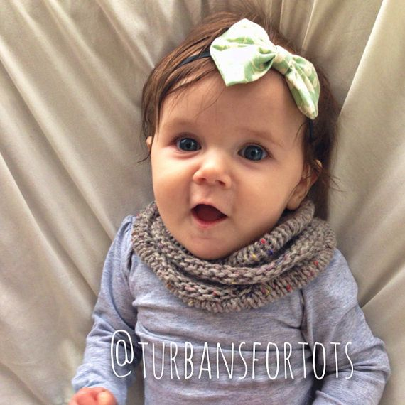 Gray baby infinity scarf snood von turbansfortots auf Etsy, $15.00