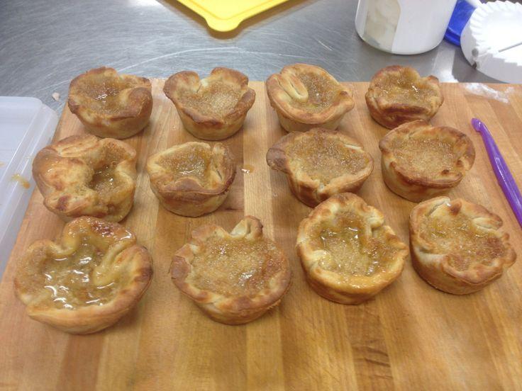 Butter tarts.  Raisin and pecan :-)