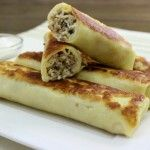 Savory Crepes With Meat Filling – Блинчики с Мясной Начинкой