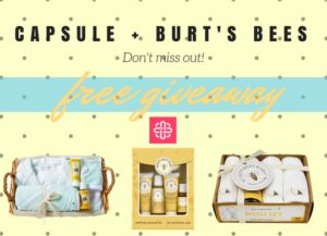 Win a Burt's Bees Baby Gift Set (US/CAN) 7/23 - Natural Giveaways