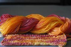 Wolle selber färben