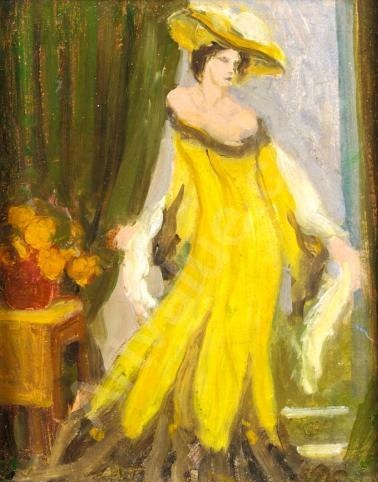 Ottoline Morrell painted by Duncan Grant. #bloomsburygroup