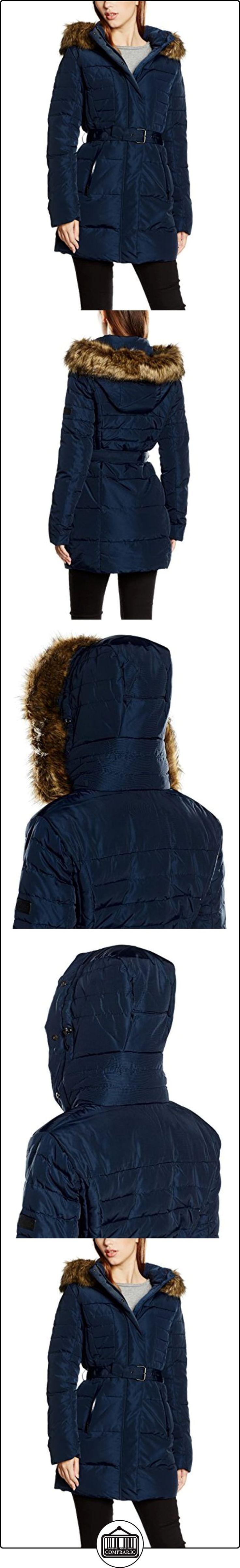 Pepe Jeans Betsy, Abrigo Mujer, Azul (Admiral), 42 (Talla del fabricante: Large)  ✿ Abrigos y chaquetas ✿
