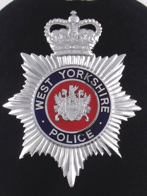 west Yorkshire police badge