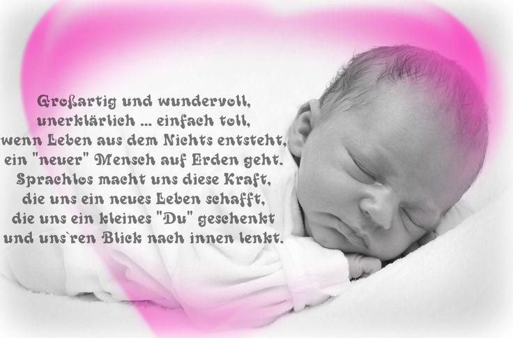 Gedicht zur Geburt