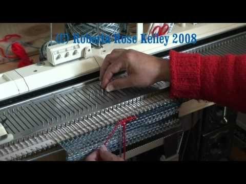 Hand Manipulation Intarsia ~ full video - YouTube