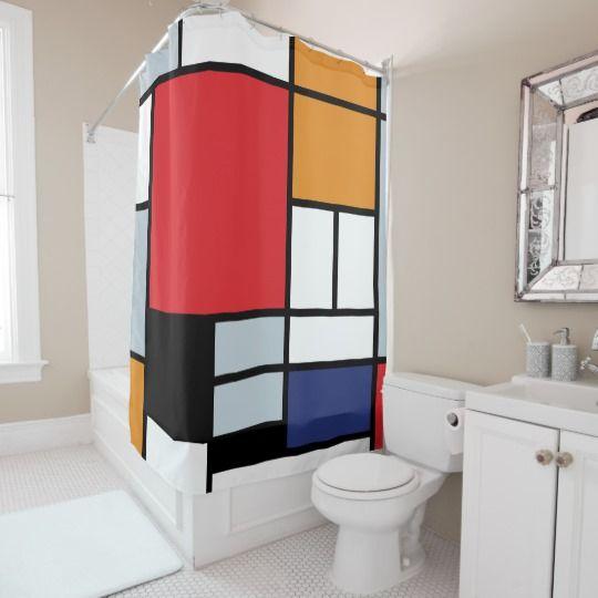 Die besten 25+ Rot duschvorhänge Ideen auf Pinterest Rotes - badezimmer zubehör günstig