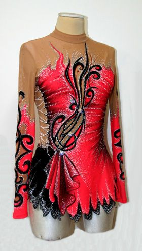 stunning colour combo, lots of detail in the paint, sewing and rhinestones. love it