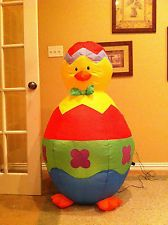 Prototype Gemmy Easter Inflatable Airblown