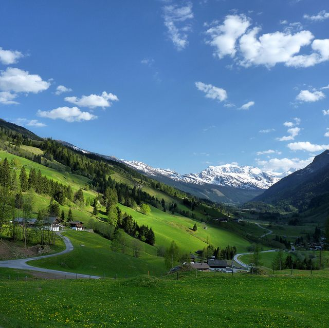 The Rauris Valley, Hohe Tauern National Park, Austria.