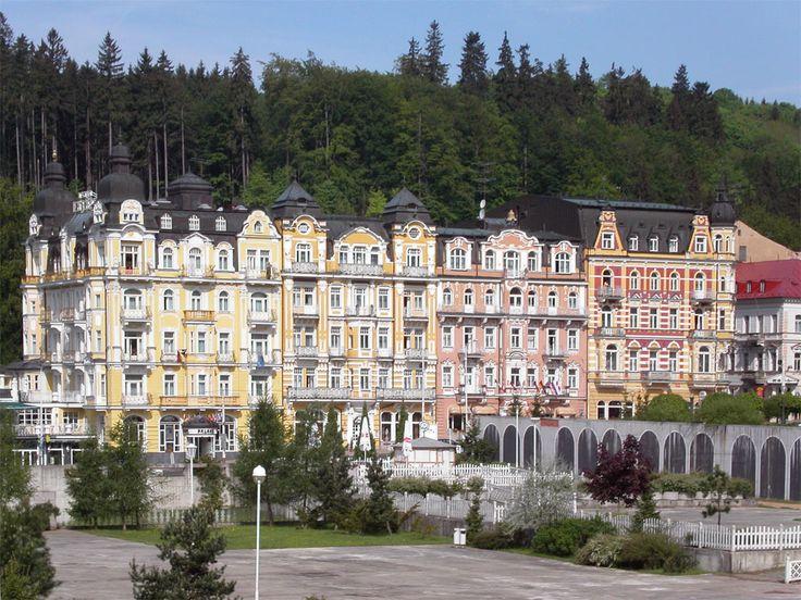 Marianske Lazne, Czech.   Quaint, beautiful little town.