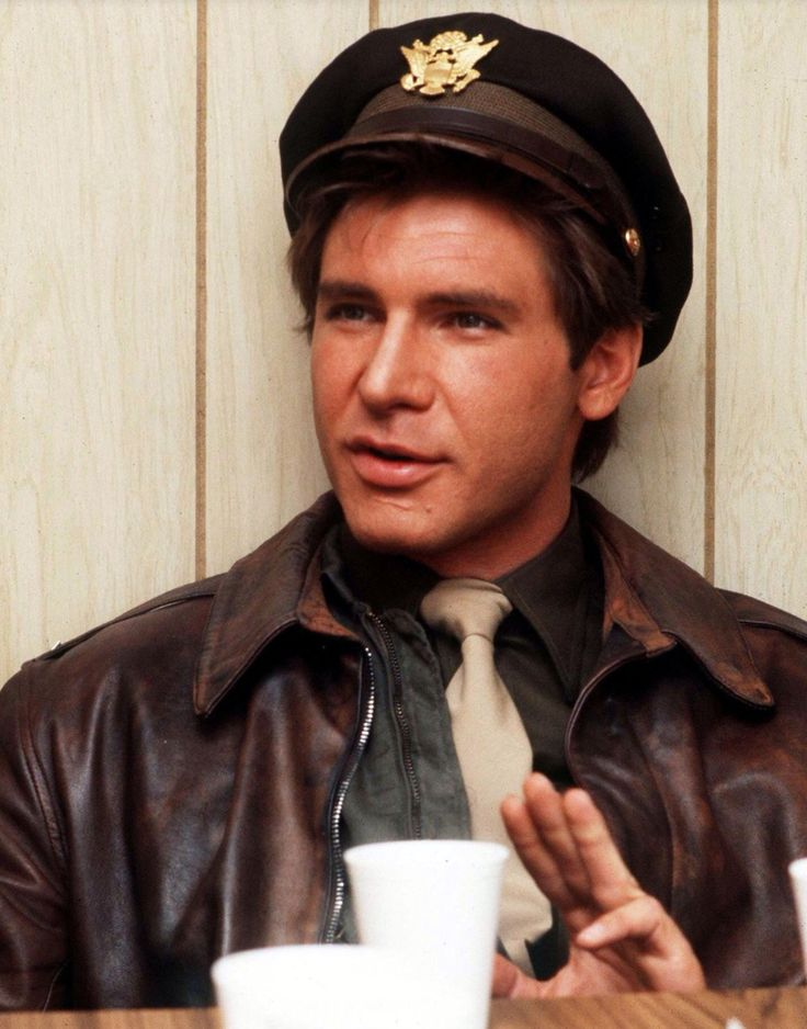 "Harrison Ford in ""Hanover Street"", (1979)."