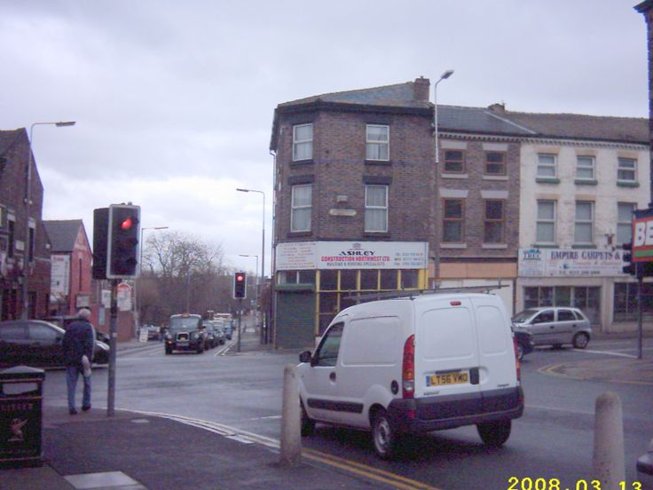 Rathbone and Wellington road crossing High Street and Picton Road.