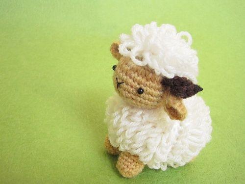Free Amigurumi Lamb : Best amigurumi sheep images sheep crochet