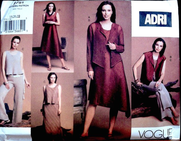 Vogue 2751, dated 2003