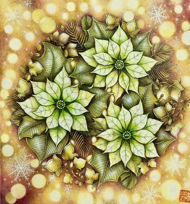 181 Best Johanna Basford Christmas Images On Pinterest