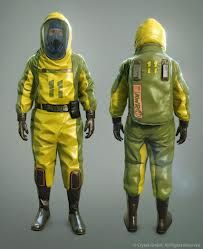 Everybody needs a good Hazmat Suit, a Geiger Counter, and a Gas Mask. That's how you survive the nuclear winter.