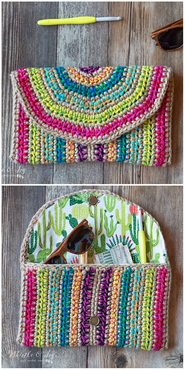 Rica Colorful Purse Free Crochet Pattern