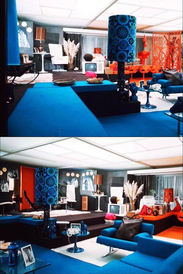 25 best 60s70s Interiors images on Pinterest Vintage interiors