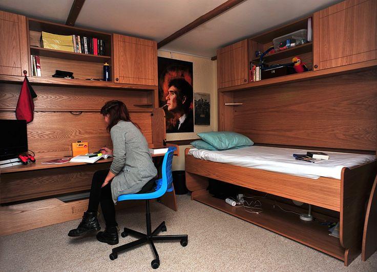 Tremough Barton Desk and Bed