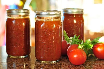 This recipe in not the traditional way to make pasta sauce using fresh tomatoes. I take the easy and fast route. I just don't have time to...